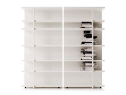 264-mex-cassina-libreria-bianco-lucido-rovere-scuro-bookcase-glossy-white-dark-oak-design-piero-lissoni-original-moderno-1