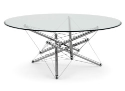 713-cassina-tavolino-low-table-design-theodore-waddell-cristallo-acciaio-cromato-clear-glass-steel-chromed-original-moderno-1