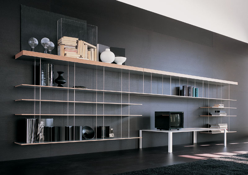Wall Bookshelf Design