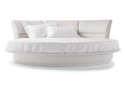 Lullaby-Due-poltrona-frau-letto-rotondo-matrimoniale-round-bed-pelle-sc-leather-nest-design-luigi-massoni-girevole-swivel-1