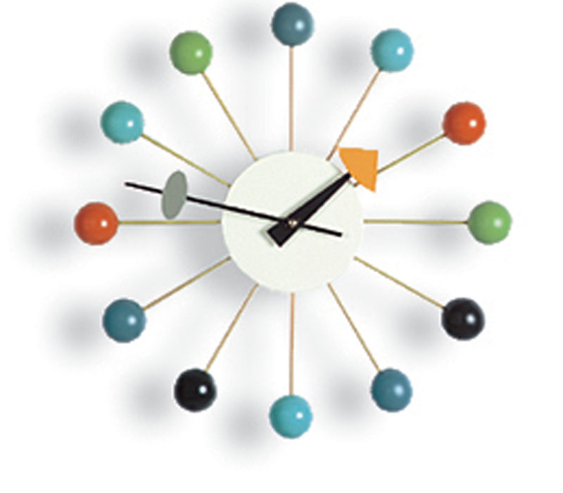Ball Clock multicolor