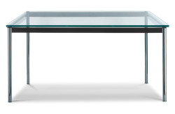 lc10-P-cassina-tavolo-table-design-le-corbusier-original-imaestri-cristallo-cromato-chromed-crystal-vetro-glass-moderno-1