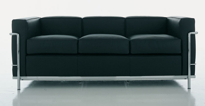 armchair and sofa Le Corbusier LC2 by Cassina   Cattelan ...