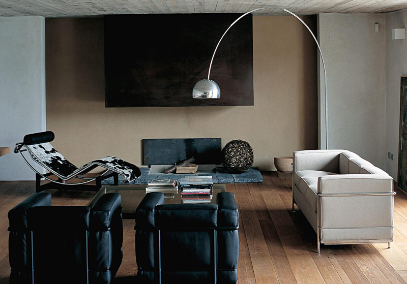 armchair and sofa Le Corbusier LC2 by Cassina | Cattelan ...