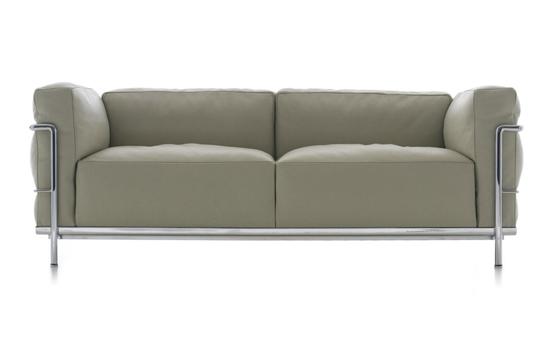 armchair and sofa Le Corbusier LC3 by Cassina | Cattelan ...