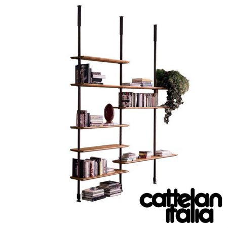 libreria-airport-cattelan-italia-montanti-bookcase-noce-canaletto-walnut-rovere-bruciato-burned-oak-original-moderno-offerta-sale-outlet (1)