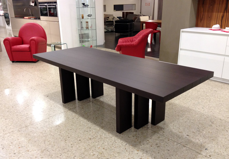 Offerta tavolo h t table di poltrona frau cattelan for Arredamento on line outlet