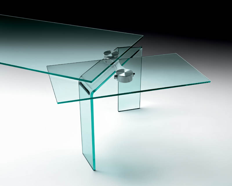 Extensible table ray plus by fiam italia cattelan for Table extensible 140