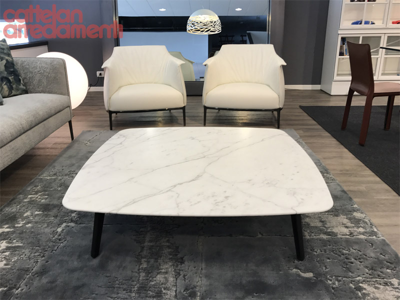 offer square coffee table Fiorile by Poltrona Frau | Cattelan ...