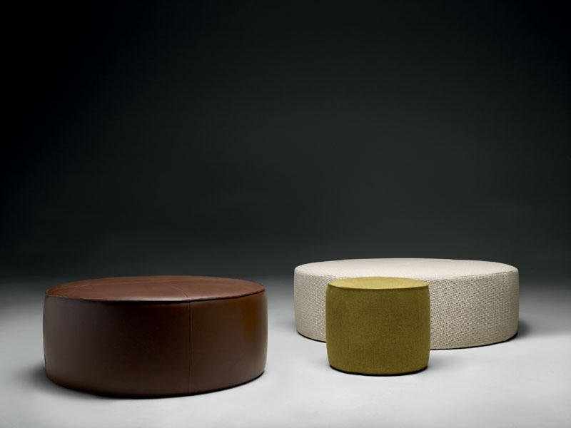 Coffee Table And Ottoman Domino By Molteni Cattelan