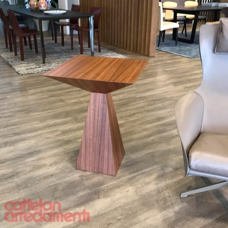 tavolino theo cattelan italia in noce canaletto walnut side table coffee design original outlet expo promo (1)
