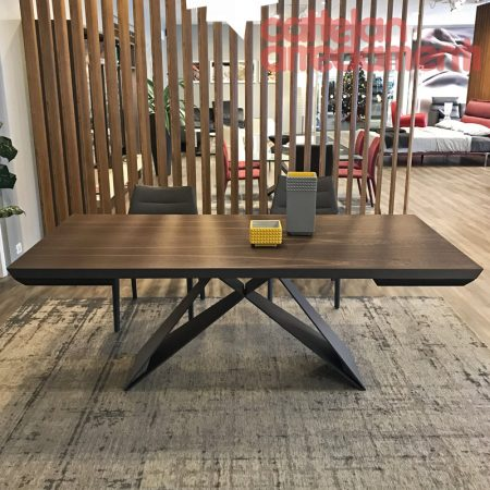 tavolo-premier-wood-drive-table-cattelan-italia-rovere-bruciato-burned-oak-graphite-bordi obliqui-outlet-offerta-sale-best-price-miglior-prezzo (1)