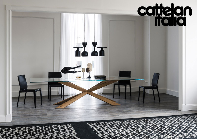 tavolo spyder di cattelan italia cattelan arredamenti. Black Bedroom Furniture Sets. Home Design Ideas