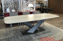 tavolo-stratos-keramik-cattelan-italia-table-arredament-base titanio-titanium-outlet-offerta-sale-best-price–miglior-prezzo-golden-calacatta-opaco-matt
