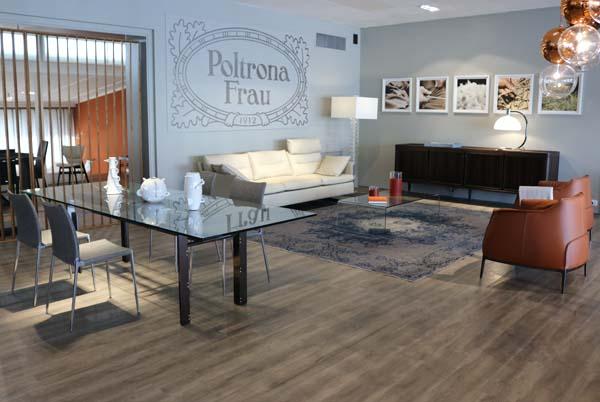 Showroom Cattelan Arredamenti Frau corner