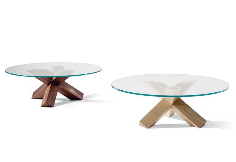 Tavoli Rotondi In Cristallo Design.452 La Rotonda Cassina Tavolo Rotondo Round Table Design Mario
