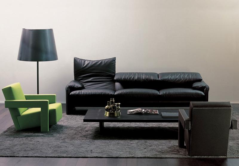 Poltrona e divano 675 maralunga di cassina cattelan arredamenti - Divano pelle o tessuto ...