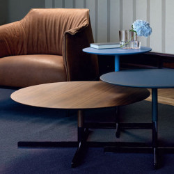Contemporary table / by Jean-Marie Massaud / round