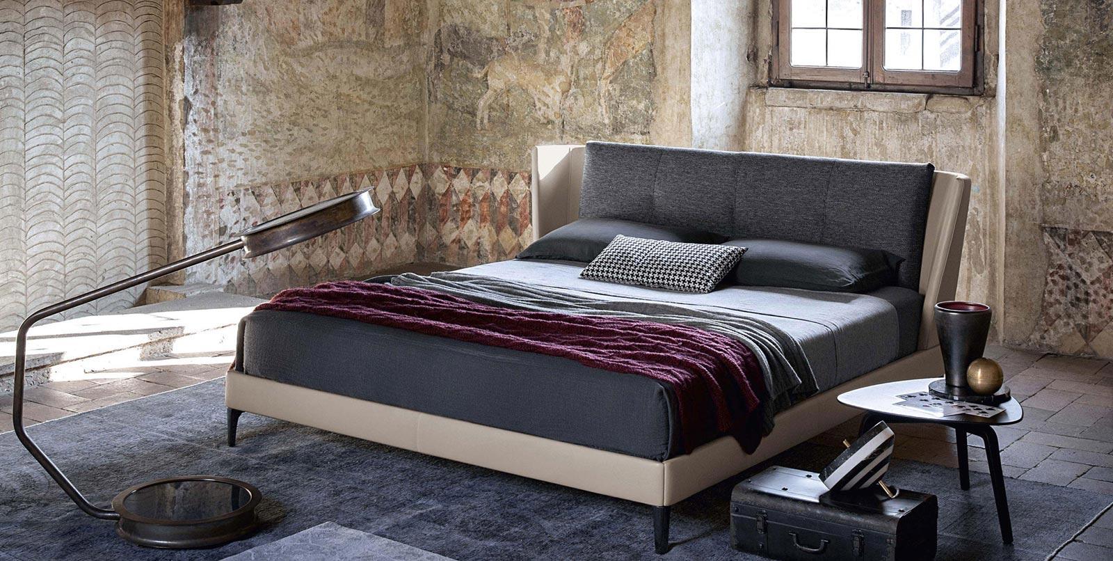letto Bretagne Bed di Poltrona Frau