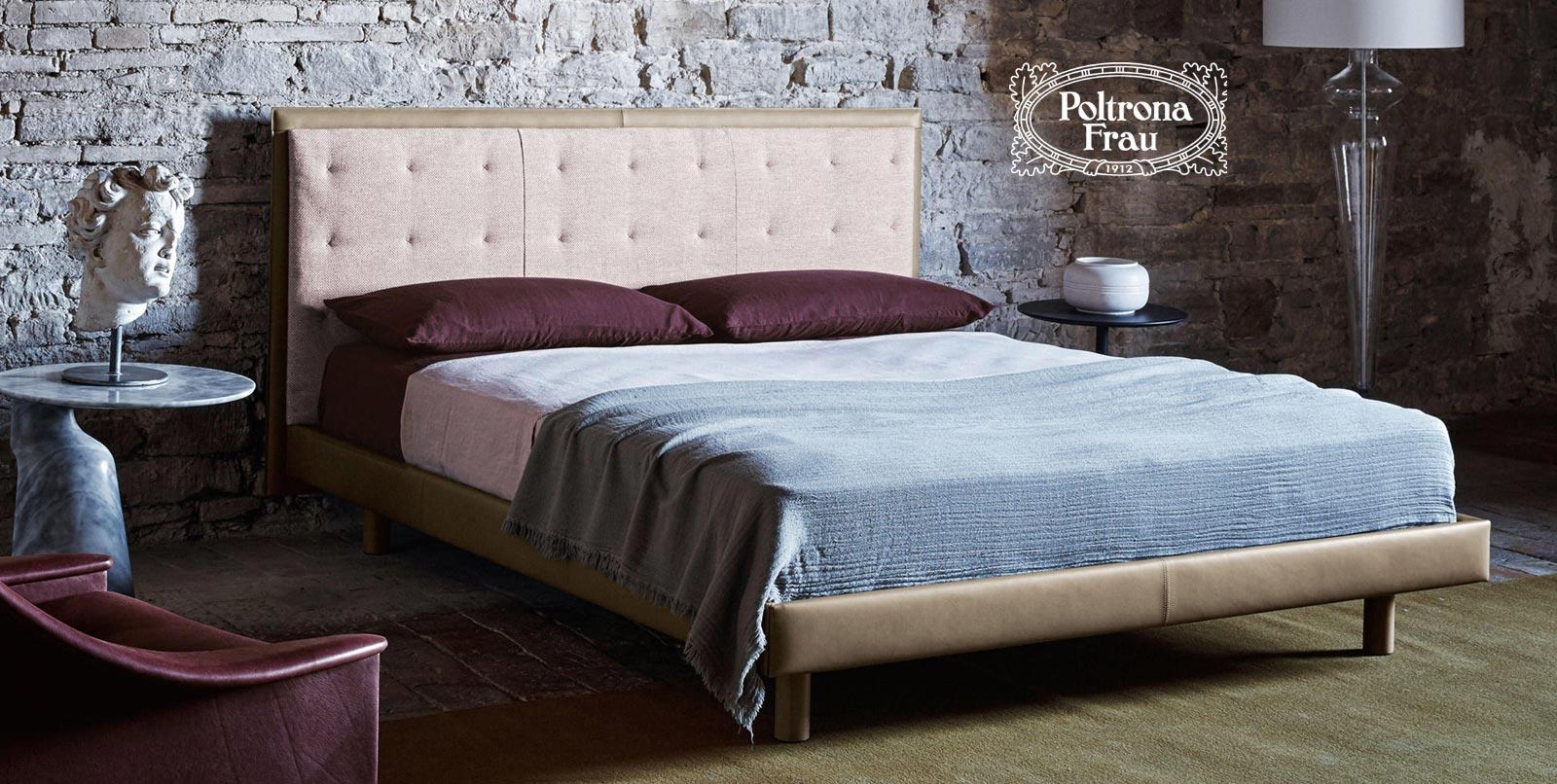 letto Gran Torino Coupè Bed di Poltrona Frau