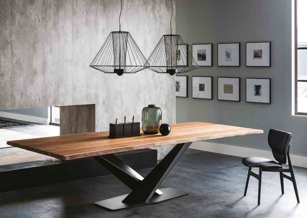 tavolo Stratos Wood Cattelan Italia