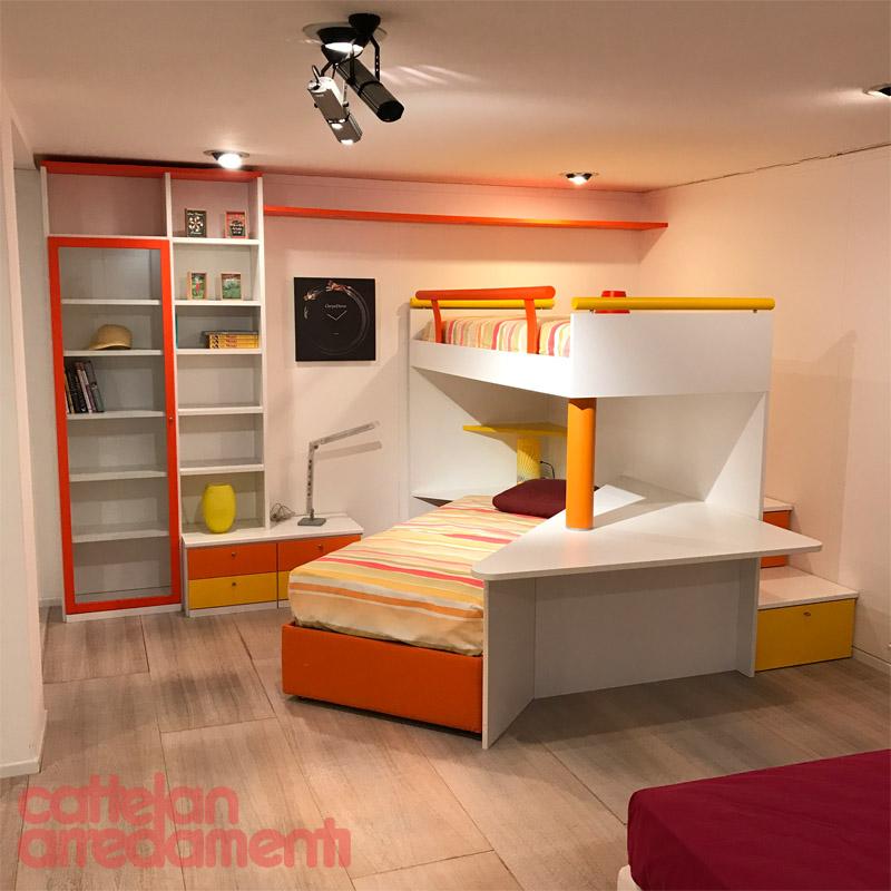 offerta cameretta con letto a castello di SanGiorgio | Cattelan ...