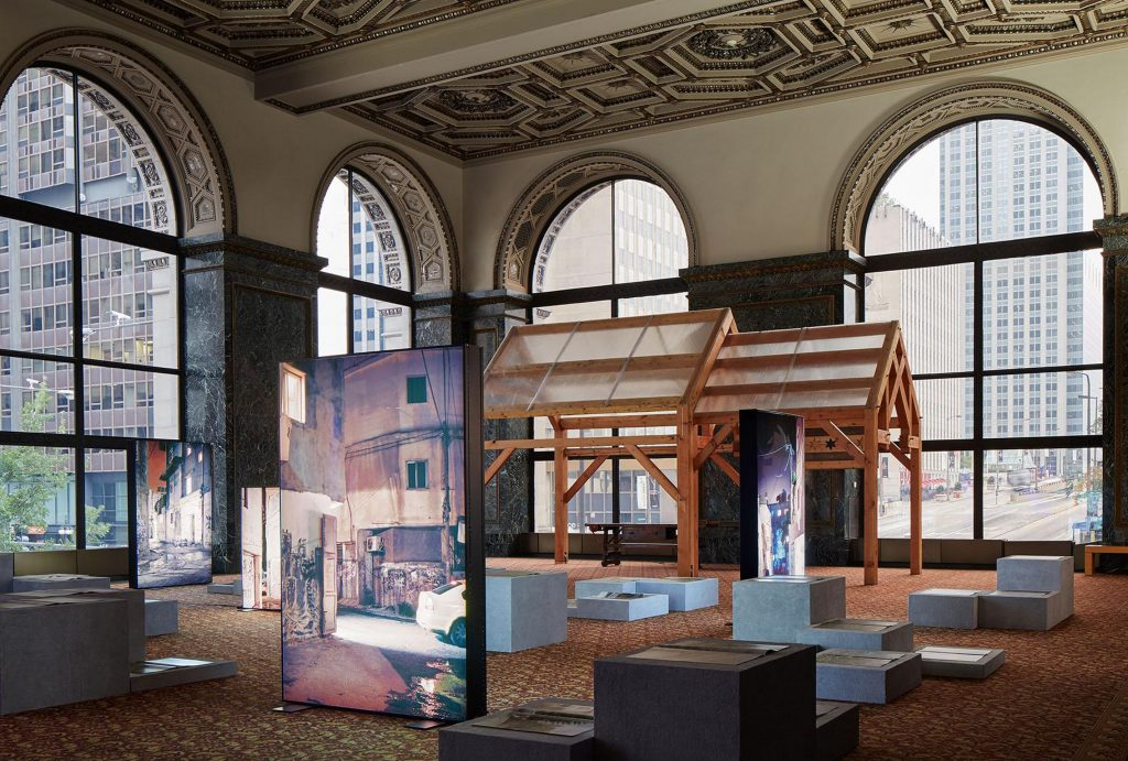 Chicago Architecture Biennial Install