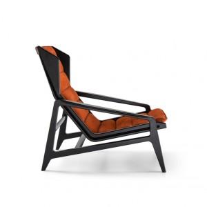 D-156-3-molteni-poltrona-armchair tessuto-pelle-fabric-leather-design-gio-ponti-moderno-original-molteni&c-2