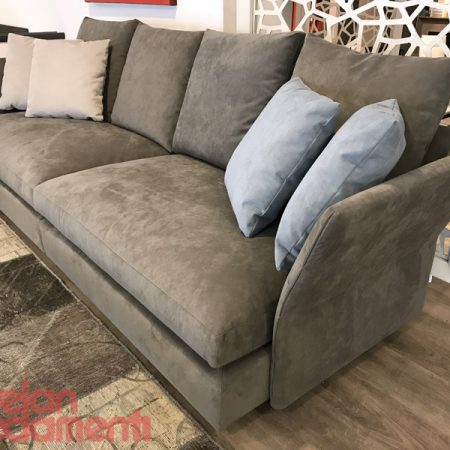 Holiday molteni divano sofa design tessuto alcantara originale outlet offerta expo sale (3)