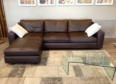 Massimosistema poltrona frau divano moderno sofa pelle soul ray design offerta speciale scontato special offer (1)