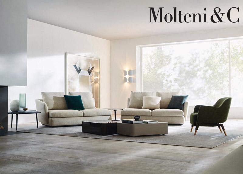 Divano sloane di molteni cattelan arredamenti for Poltrone e sofa punti vendita
