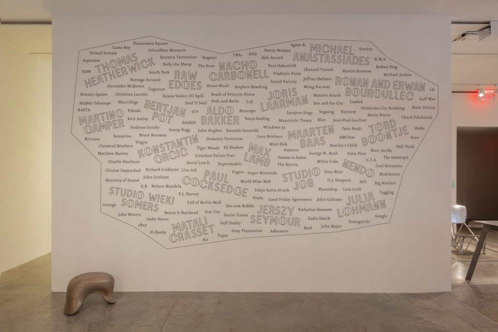 typeface realizzato da Studio Frith per la mostra