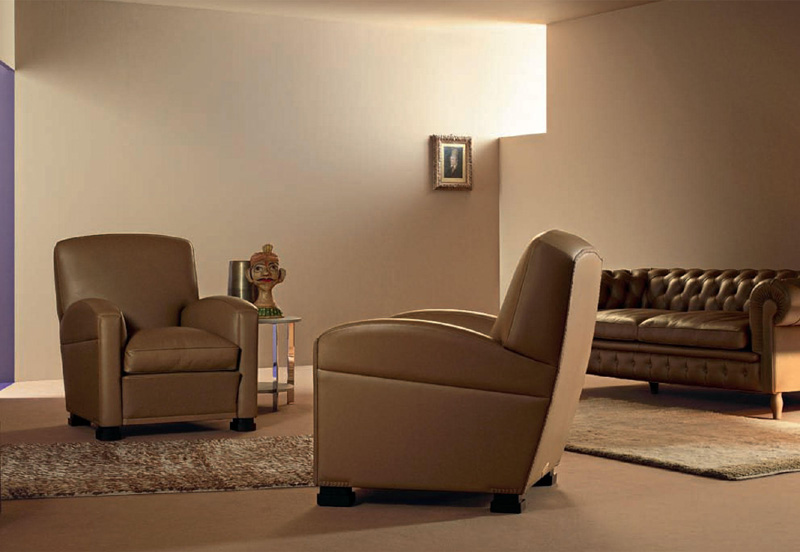 Poltrona e divano tabarin di poltrona frau cattelan for Divano poltrona