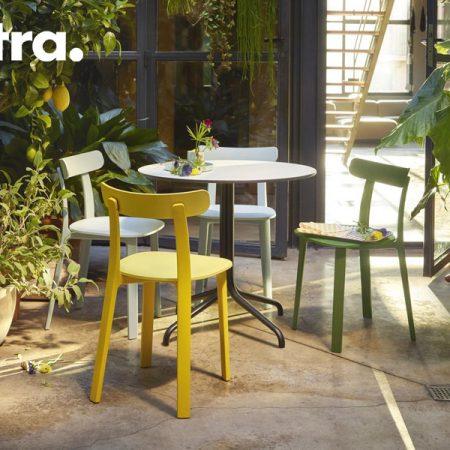 all plastic chair vitra design Jasper Morrison original moderno bianco marrone grigio edera mattone ranuncolo (2)