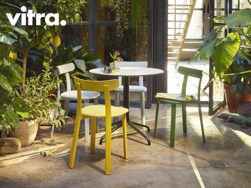 sedia Vitra All Plastic