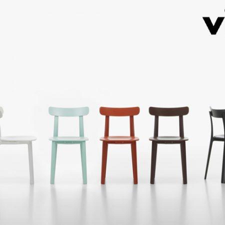 all plastic chair vitra design Jasper Morrison original moderno bianco marrone grigio edera mattone ranuncolo (3)