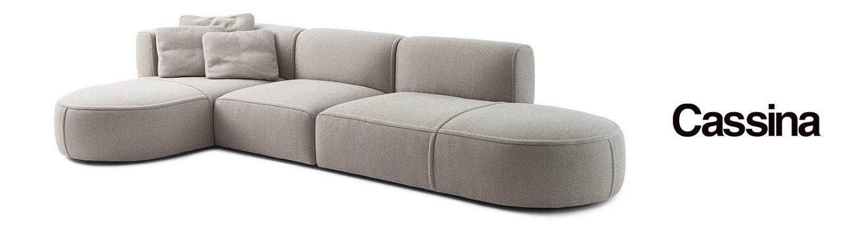 Divano 553 bowy sofa di cassina cattelan arredamenti for Divano tondeggiante