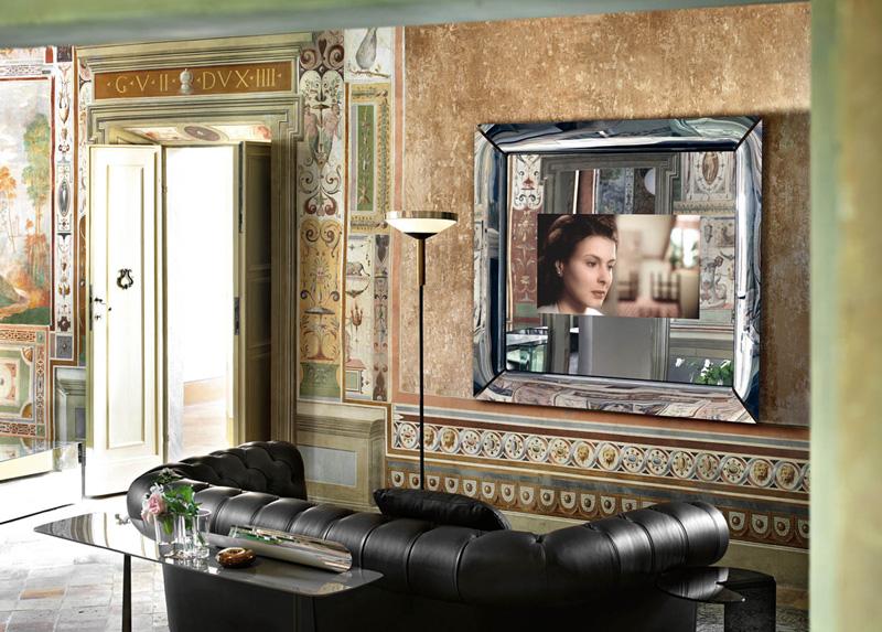 Specchio caadre tv di fiam italia cattelan arredamenti for Specchio philippe starck