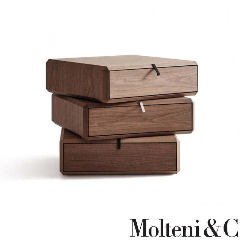 contenitori-cassetto-teorema-molteni-drawer-unit-comodini-noce ...