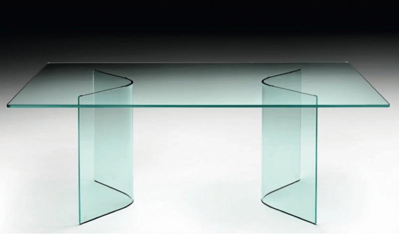 Tavoli In Cristallo Fiam Prezzi.Tavolo Corner Di Fiam Italia Cattelan Arredamenti
