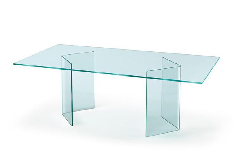 Tavoli In Cristallo Fiam.Tavolo Corner Di Fiam Italia Cattelan Arredamenti