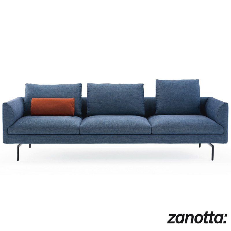 Outlet Divani In Pelle.Armchair And Sofa 1333 Flamingo By Zanotta Cattelan Arredamenti