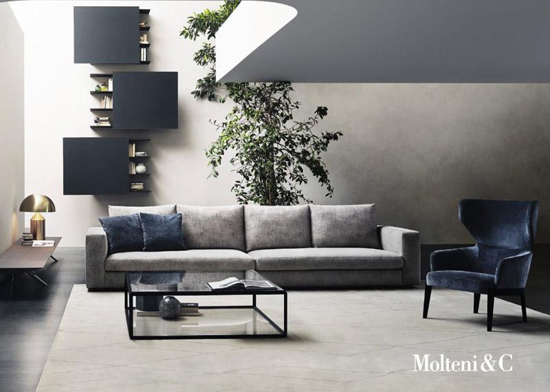 Sofa Reversi 14 By Molteni Cattelan Arredamenti