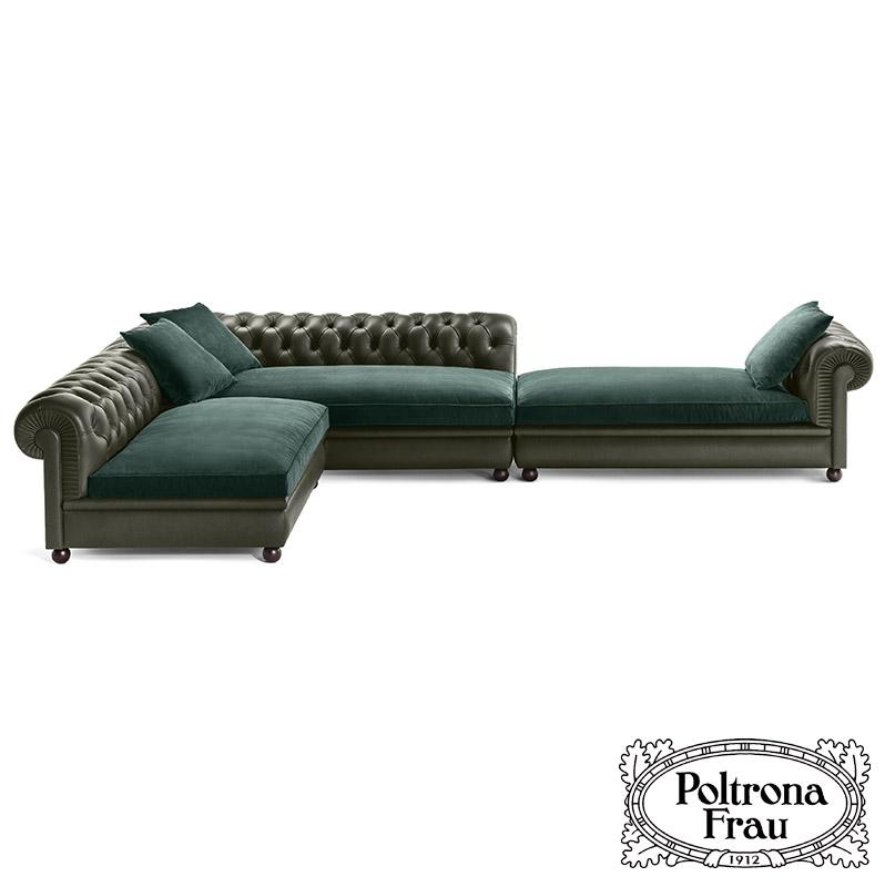 Divano In Pelle Chester.Chester Line Sofa By Poltrona Frau Cattelan Arredamenti