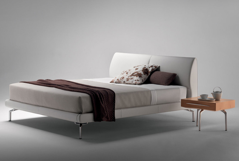 eosonno poltrona frau letto matrimoniale bed pelle sc leather heritage ...