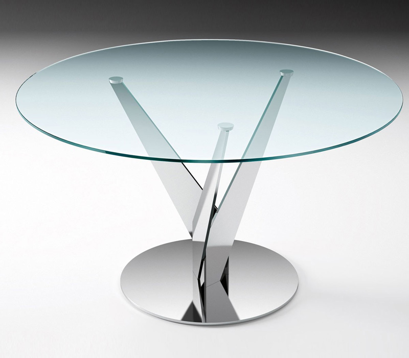 epsylon-fiam-italia-tavolo-rotondo-vetro-cristallo-acciaio ...