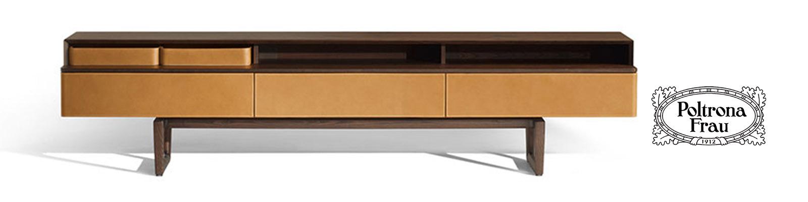 Fidelio multimedia cabinet poltrona frau original design for Fidelio arredamenti
