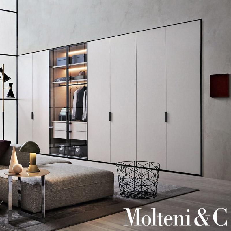 Wardrobe Gliss Master Grip Door By Molteni Cattelan