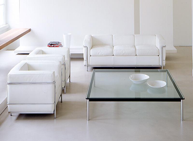 tavolino Le Corbusier LC10-P di Cassina | Cattelan Arredamenti