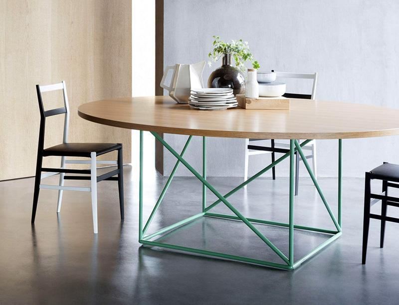 Tavolo lc15 table de conf rence di cassina tavoli - Tavolo cristallo le corbusier ...